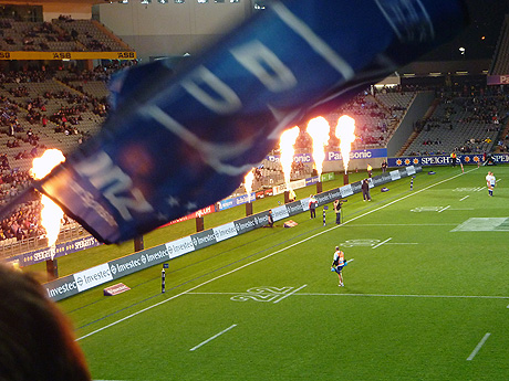 Stormers versus Blues Super Rugby 20 May 2011 Eden Park Auckland