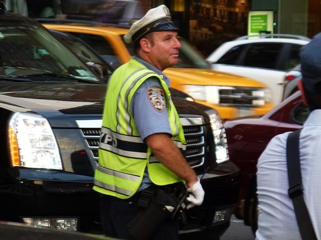 NY Policeman – Photo: InkEatsMan